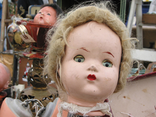 DIY restoration can be performed on dolls and toys get good advice
